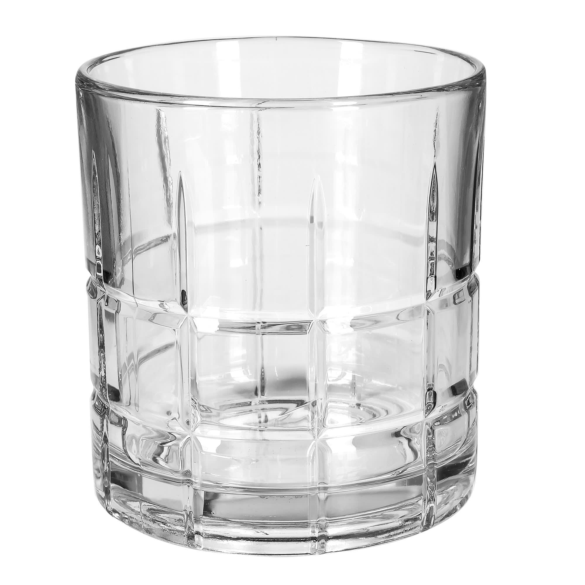Anchor 68349 10.5-oz Tartan Old Fashioned Rocks Glass