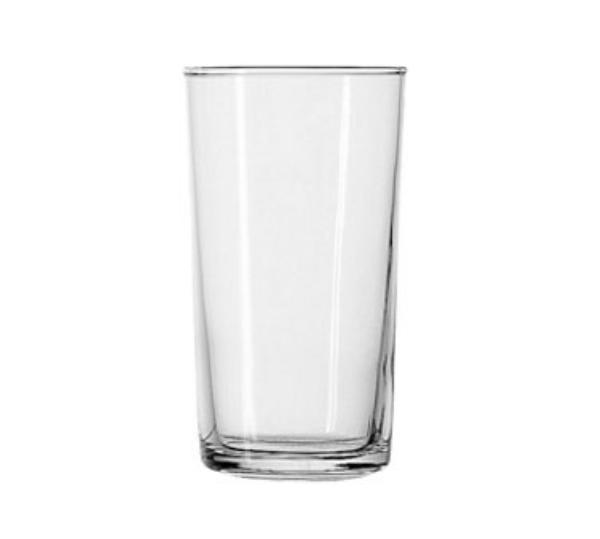 Anchor 7513U Shell Hi Ball Glass, 8 oz., Rim-Tempered