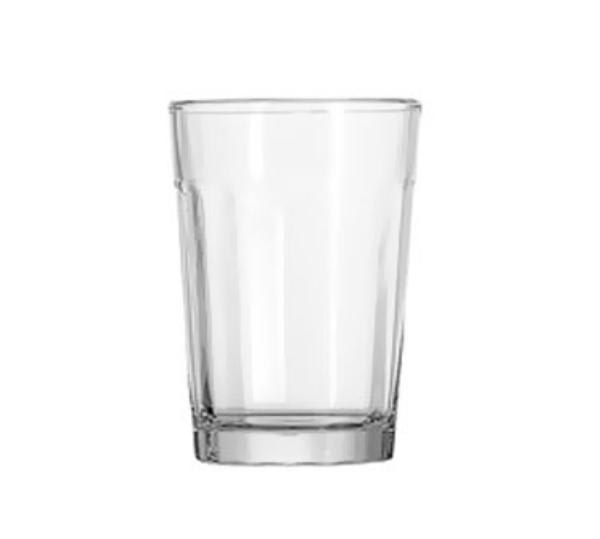 Anchor 7631U Ribware Beverage Glass, 9 oz.