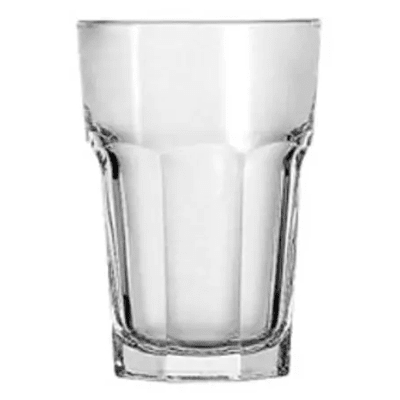 Anchor 7729U 9 oz Hi Ball Glass, Rim-Tempered