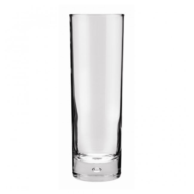 Anchor 80443 Disco Hi-Ball Glass, Rim - Tempered, 10 oz