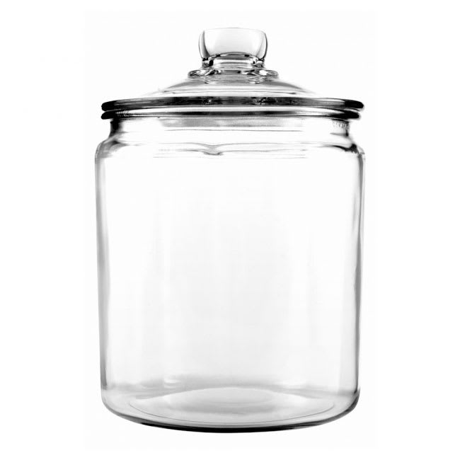 Anchor 85545R 1/2 gallon Heritage Hill Jar With Glass Lid