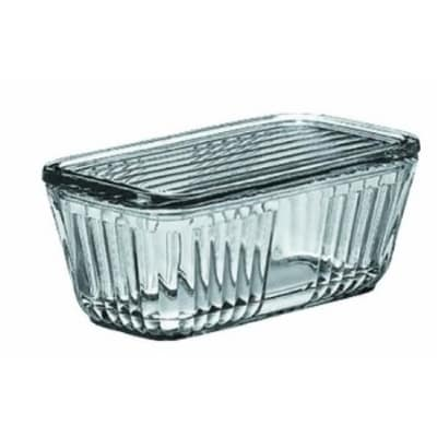 Anchor 85695L11 5-Cup Bake Dish w/ Glass Lid, Clear