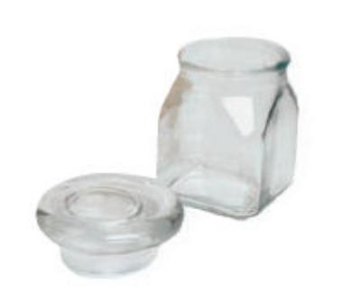 Anchor 85858 Mini Emma Jar,  Glass Lid, 4 oz
