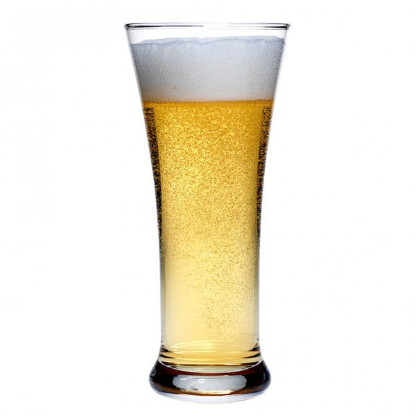 Anchor 90245 Flared Pilsner Glass, 12-oz w/ Tempered Rim
