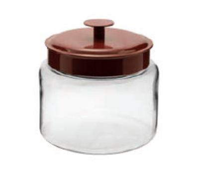 Anchor 95583 96-oz Mini Montana Jar w/ Red Metal Cover