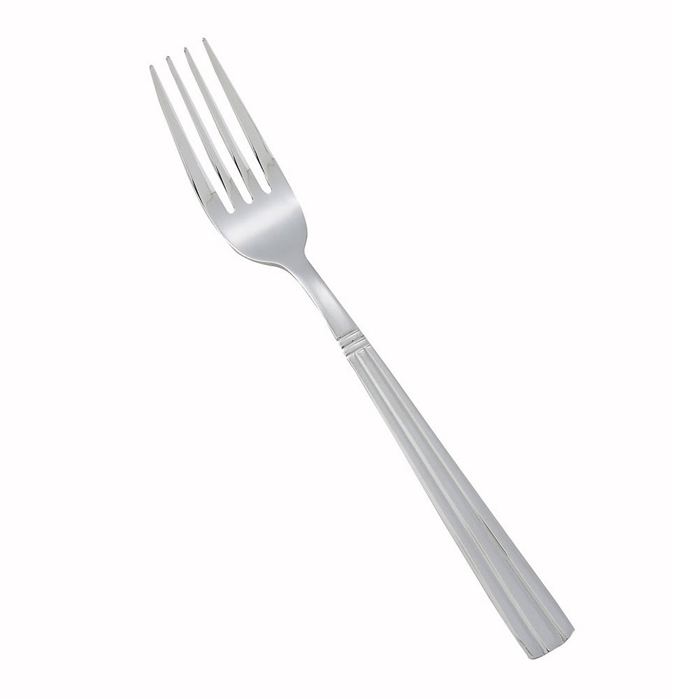 Winco 0007-05 Dinner Fork, 18/0 Stainless Steel, Medium Heavy, Regency Pattern