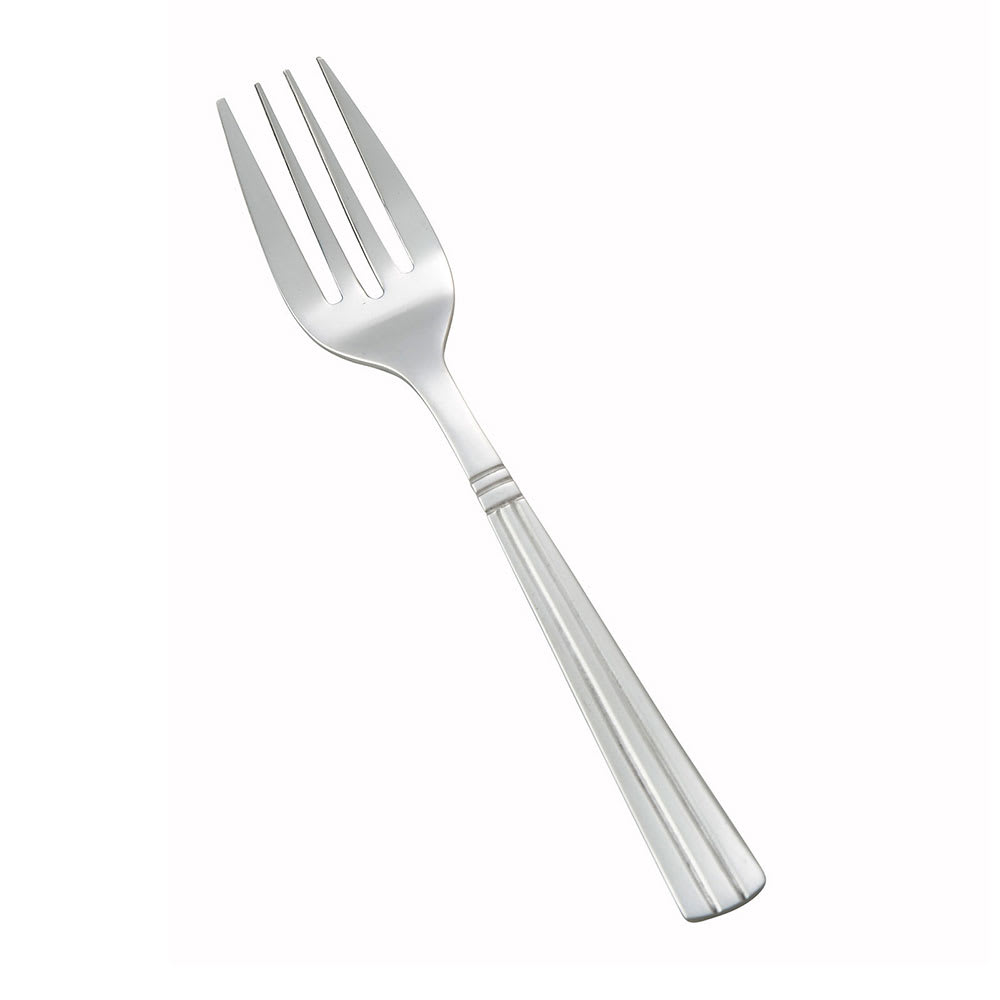 Winco 0007-06 Salad Fork, 18/0 Stainless Steel, Medium Heavy, Regency Pattern