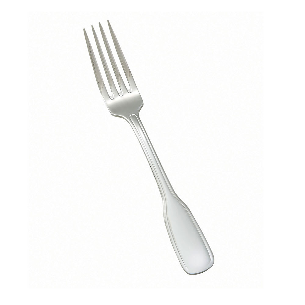 Winco 0033-05 Dinner Fork, Extra Heavy, 18/8 Stainless Steel, Oxford Design