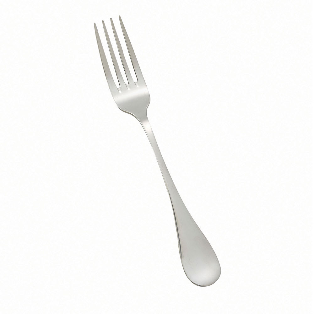 Winco 0037-11 European Table Fork, Extra Heavy, 18/8 Stainless Steel, Venice Design