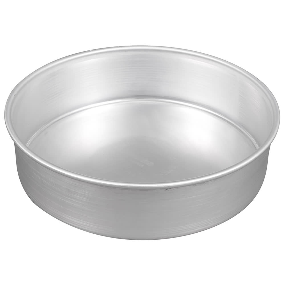 Winco ACP-103 Aluminum Layer Cake Pan, 10 x 3""
