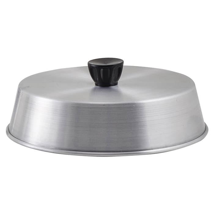 "Winco ADBC-8 8"" Grill Basting Cover w/ Handle, Aluminum"
