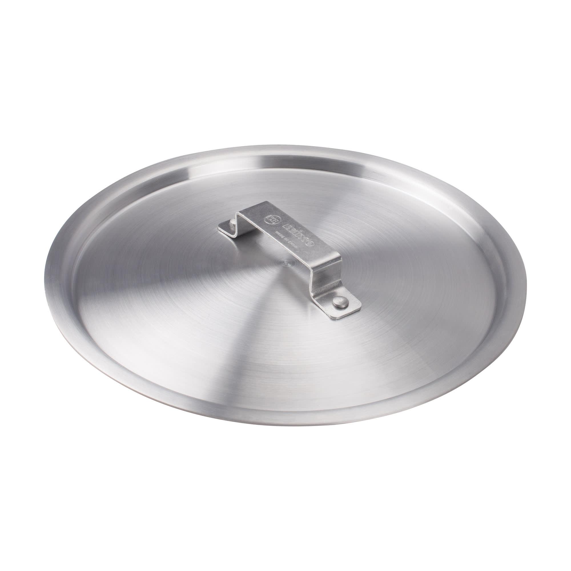 Winco ALPC-100 Stock Pot Cover for 100 qt Pots & 28 qt Braziers, Aluminum
