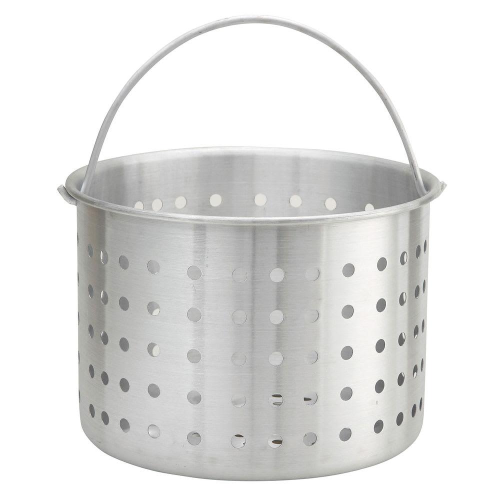 "Winco ALSB-40 40 qt Aluminum Steamer Basket, 11.8"" dia., 11.8""H"