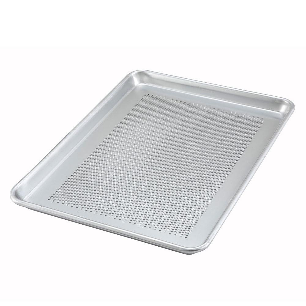 "Winco ALXP-1318P Perforated Aluminum Sheet Pan, 13 x 18"""