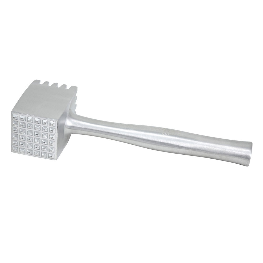 Winco AMT4 2-Sided Heavy Meat Tenderizer, Aluminum