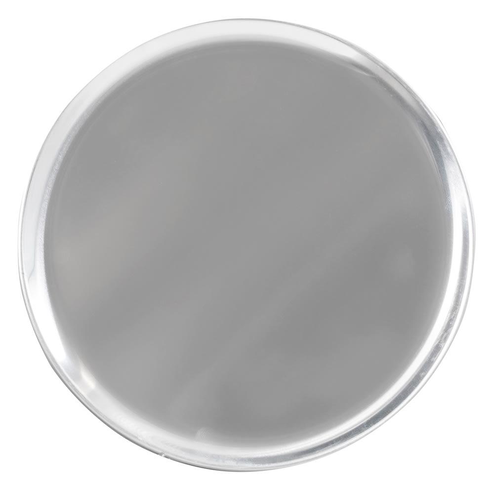 "Winco APZC-10 10"" Round Pizza Pan, Coupe, Aluminum"