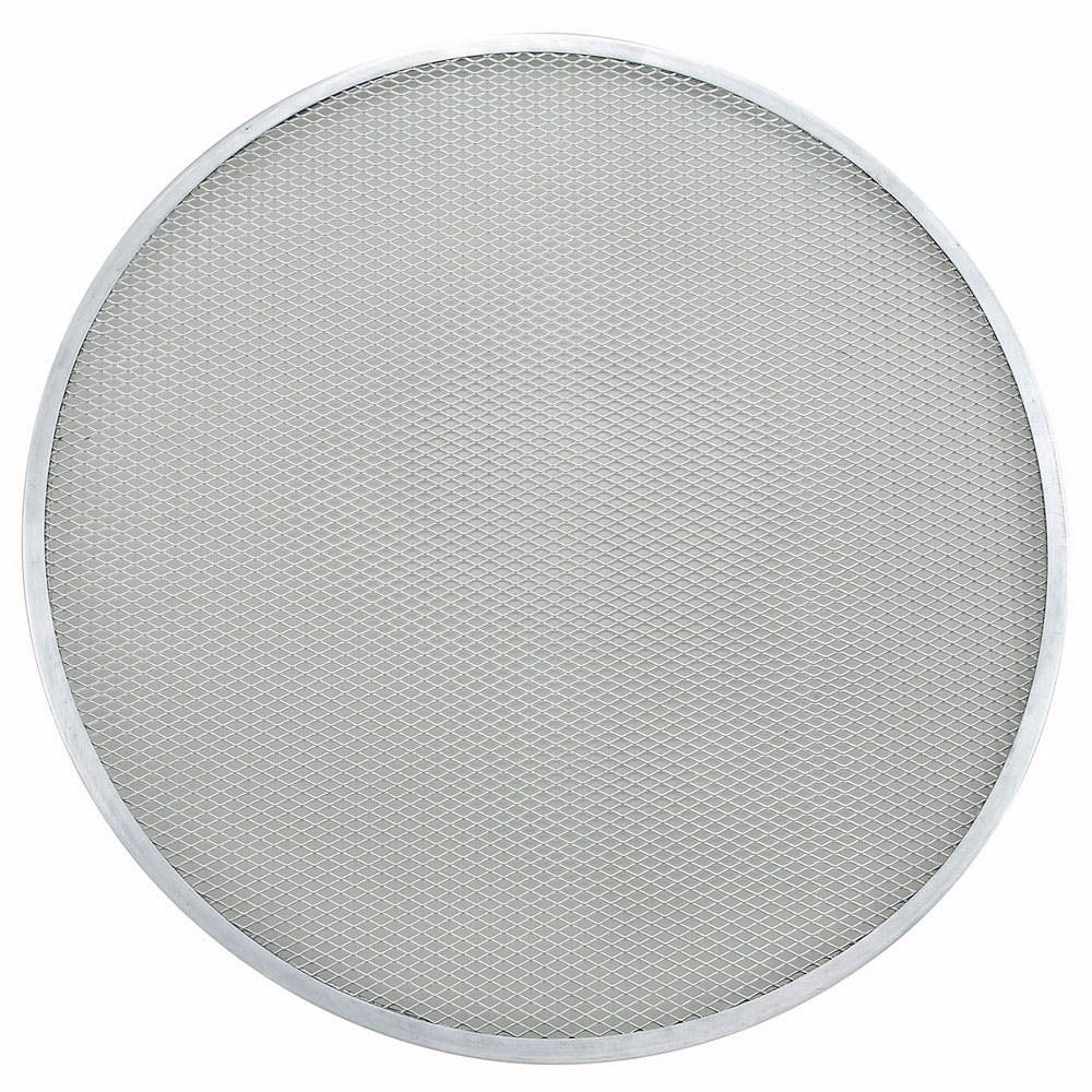 "Winco APZS-18 18"" Seamless Pizza Screen, Aluminum"