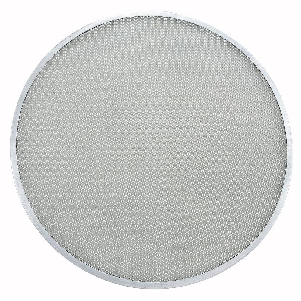 "Winco APZS-20 20"" Round Pizza Screen, Seamless, Aluminum"