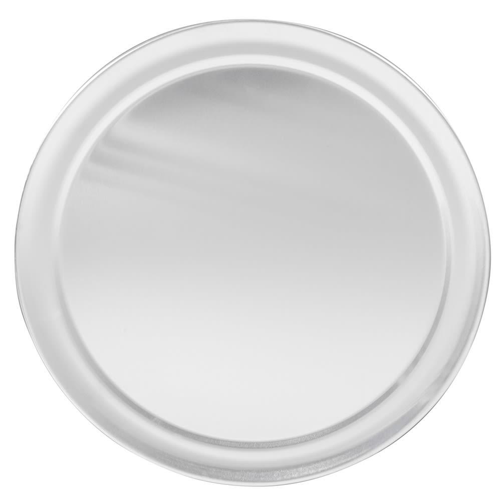 """Winco APZT-11 11"""" Round Wide Rim Pizza Pan, Aluminum"""