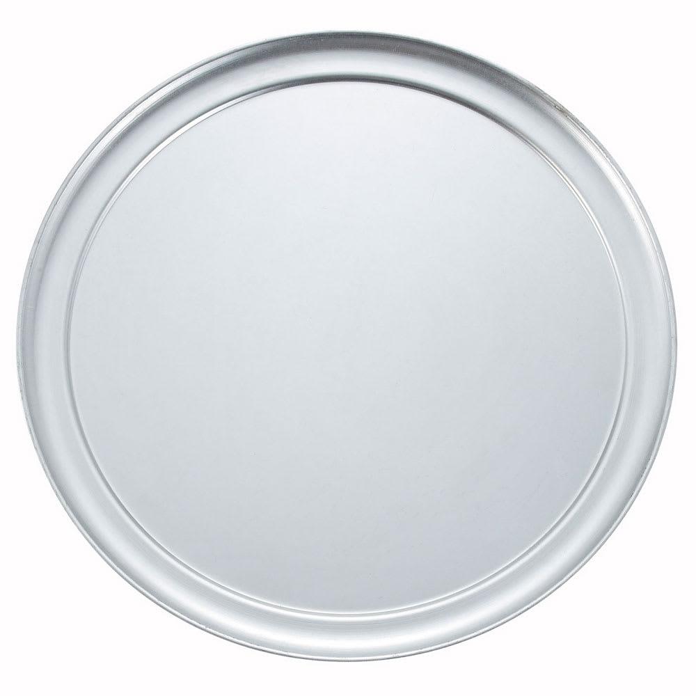 """Winco APZT-12 12"""" Round Wide Rim Pizza Pan, Aluminum"""