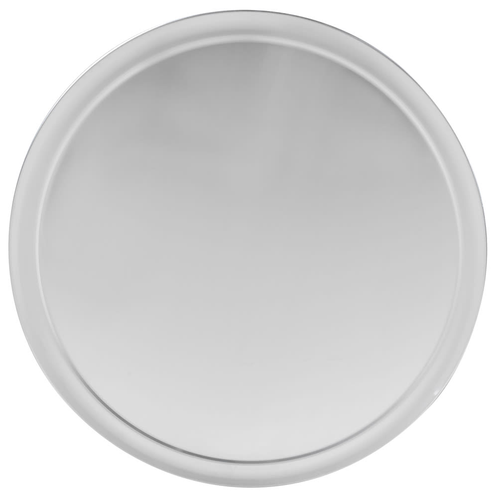 "Winco APZT-16 16"" Round Wide Rim Pizza Pan, Aluminum"
