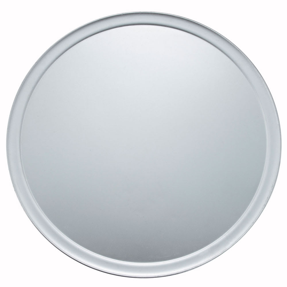 "Winco APZT-20 20"" Round Wide Rim Pizza Pan, Aluminum"