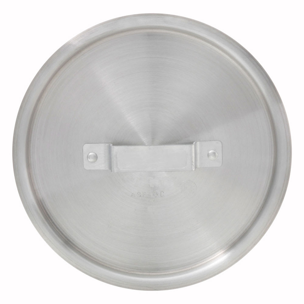 Winco ASP-10C 10 qt Saucepan Cover w/ Handle - Aluminum