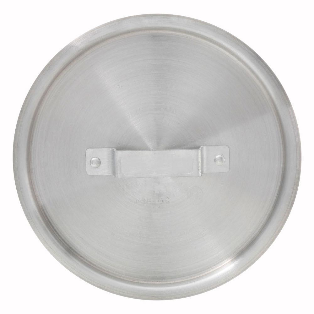 Winco ASP-10C 10-qt Saucepan Cover w/ Handle - Aluminum