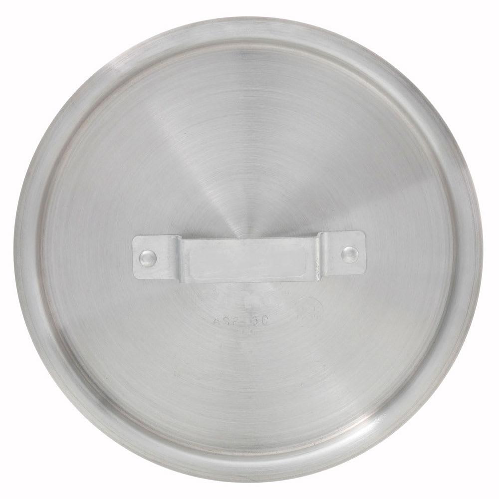 Winco ASP-2C 2.5 qt Saucepan Cover w/ Handle - Aluminum