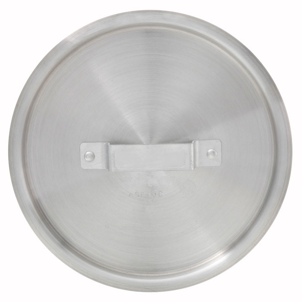 Winco ASP-7C 7-qt Saucepan Cover w/ Handle - Aluminum