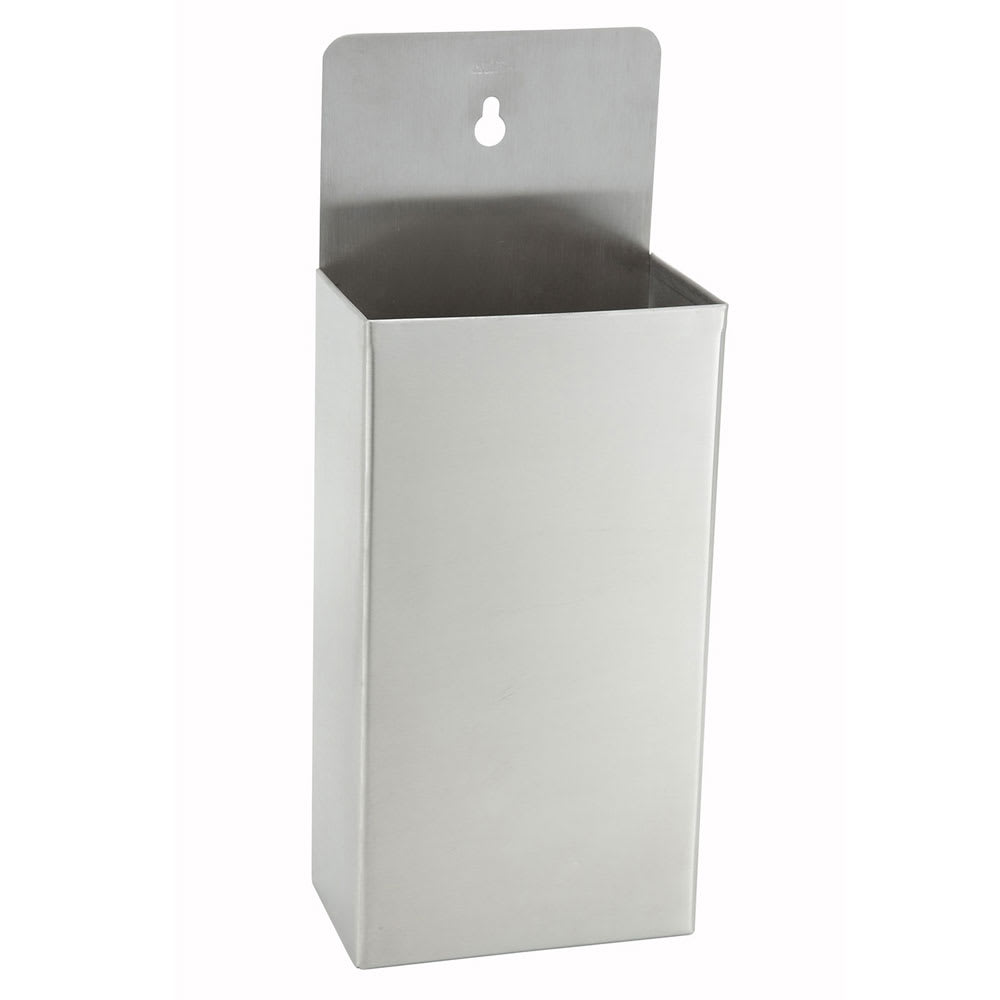 "Winco BCH-14 Bottle Cap Holder, 10 x 6"", Stainless"