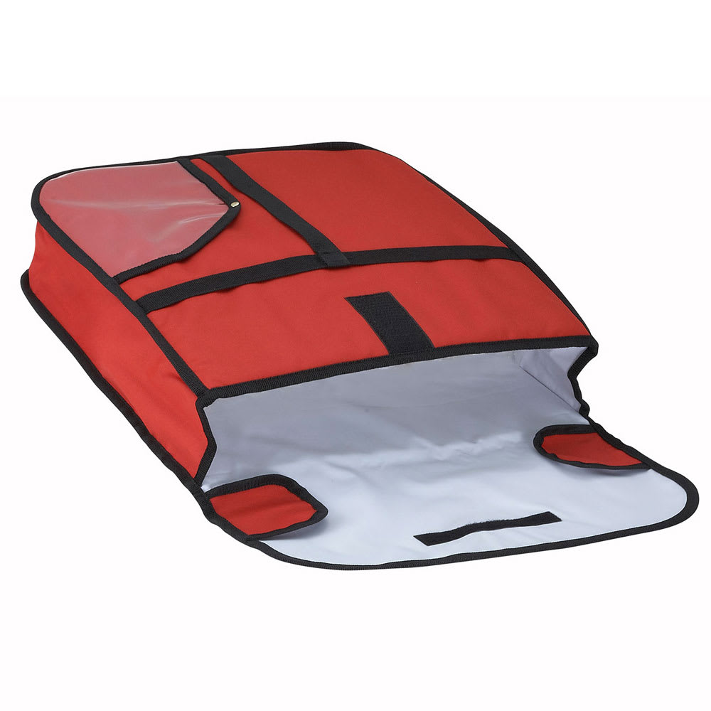 """Winco BGPZ-18 Pizza Delivery Bag, 18 x 18 x 5"""""""