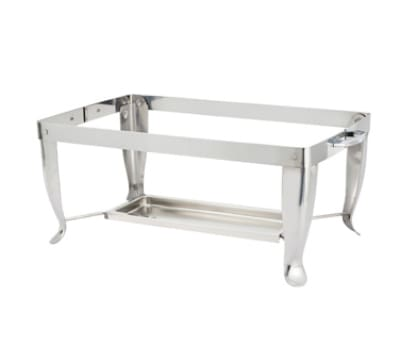 Winco C-4F Folding Chafer Stand w/ Curved Legs