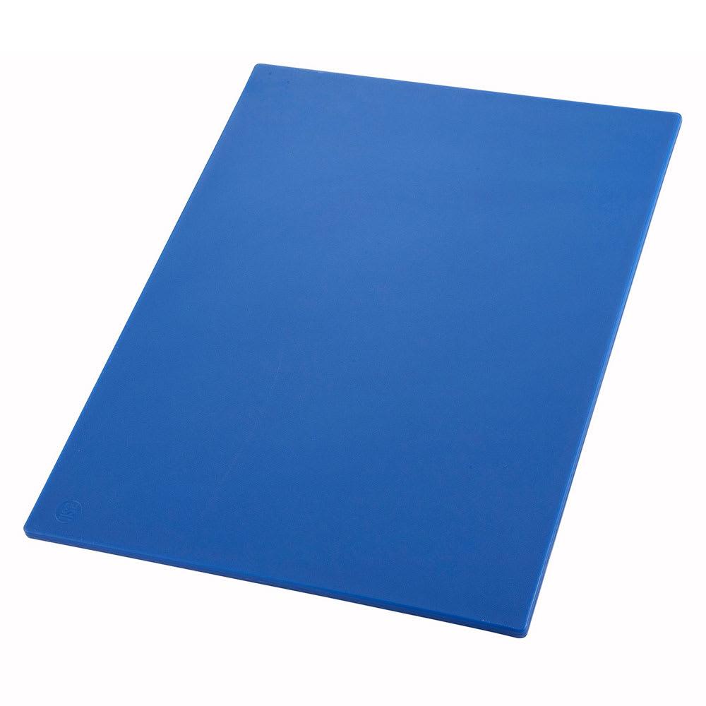 """Winco CBBU1218 Cutting Board, 12 x 18 x .5"""", Blue"""