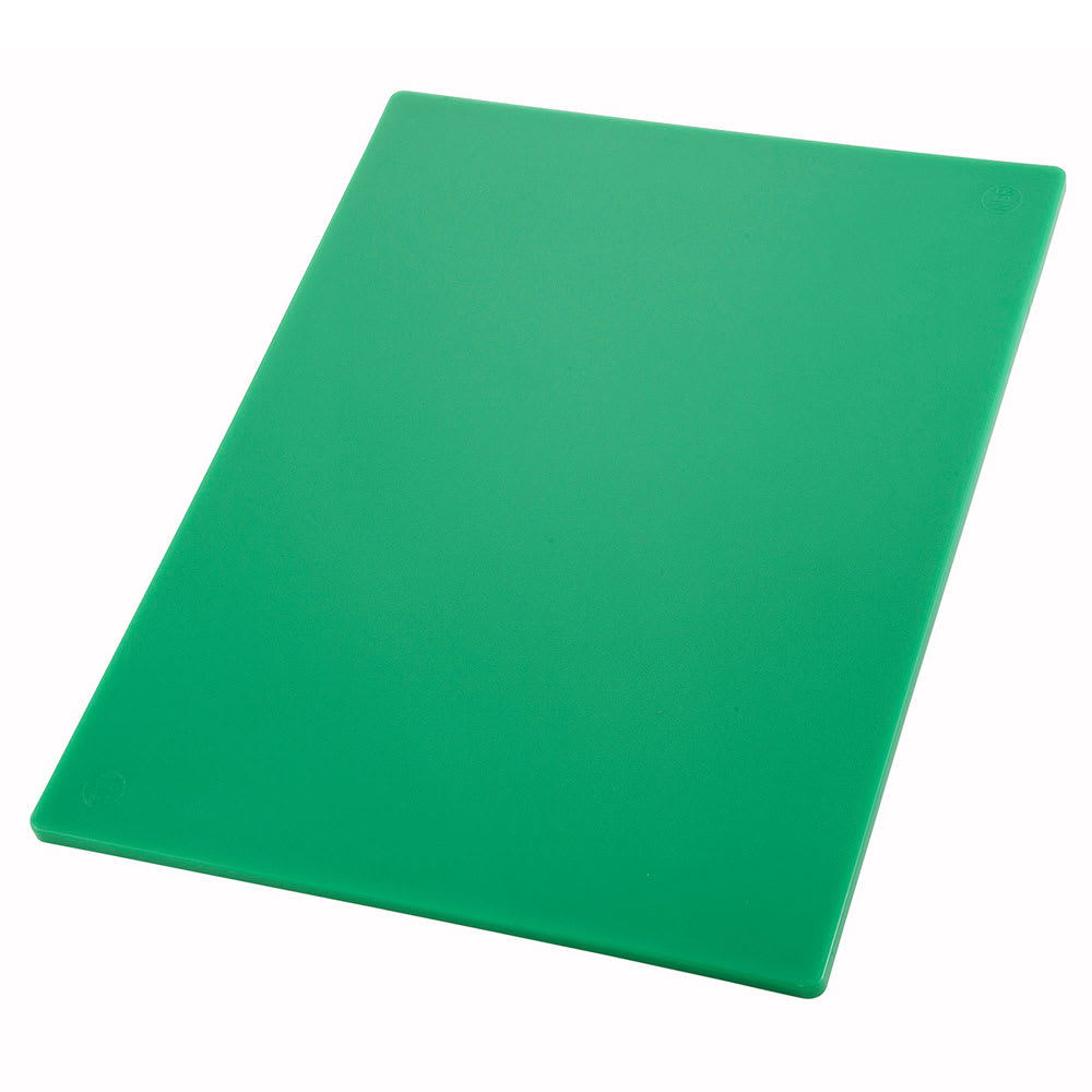 "Winco CBGR-1520 Cutting Board, 15 x 20 x .5"", Green"