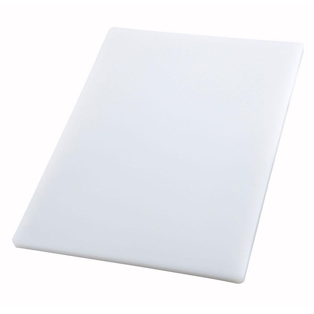 Winco CBH-1520 Cutting Board, 15 x 20 x .75-in, White