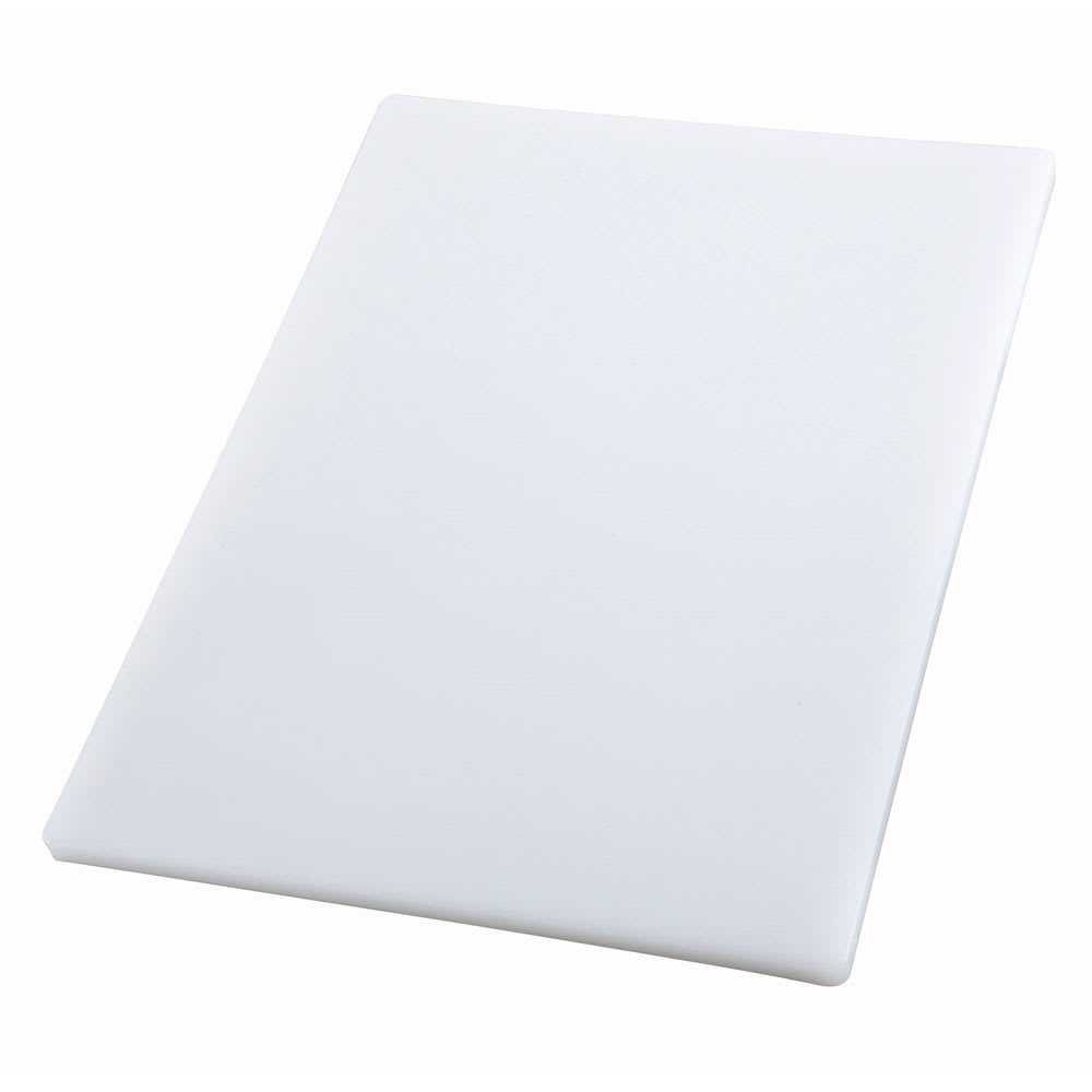 "Winco CBH-1824 Cutting Board, 18 x 24 x .75"", White"