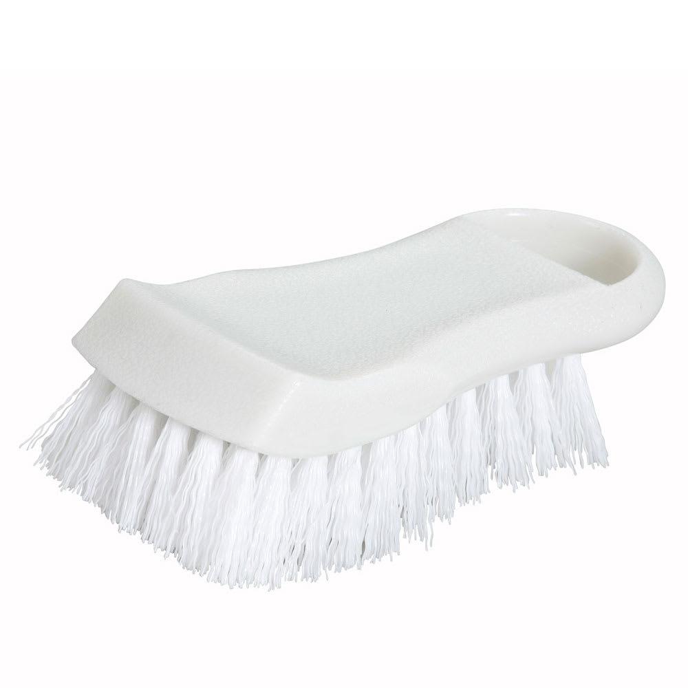 Winco CBR-WT Cutting Board Brush, White