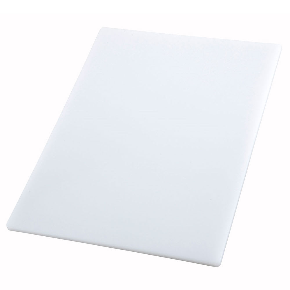 "Winco CBWT-1824 Cutting Board, 18 x 24 x .5"", White"