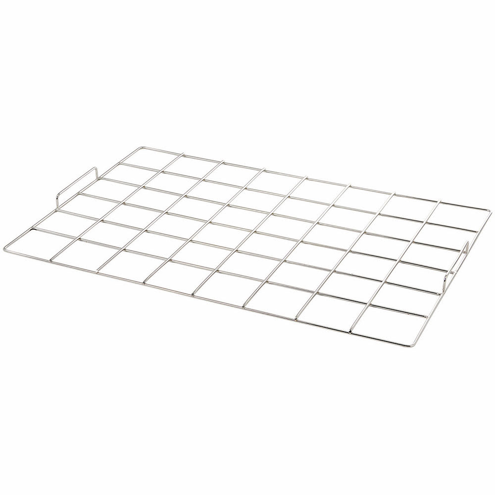 """Winco CKM-68 48 Square Cake Marker - 6"""" x 8"""", Stainless"""