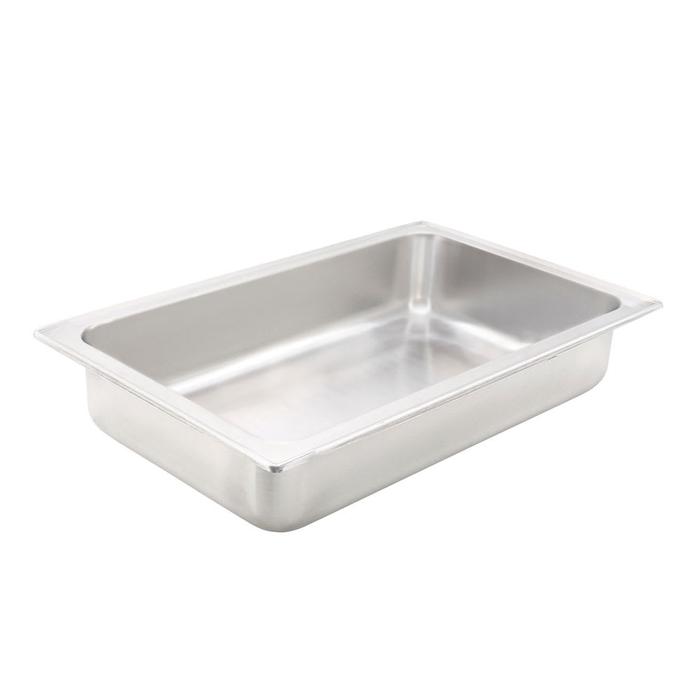 "Winco C-WPF Full Size Water Pan, 4"" Deep, Stainless"