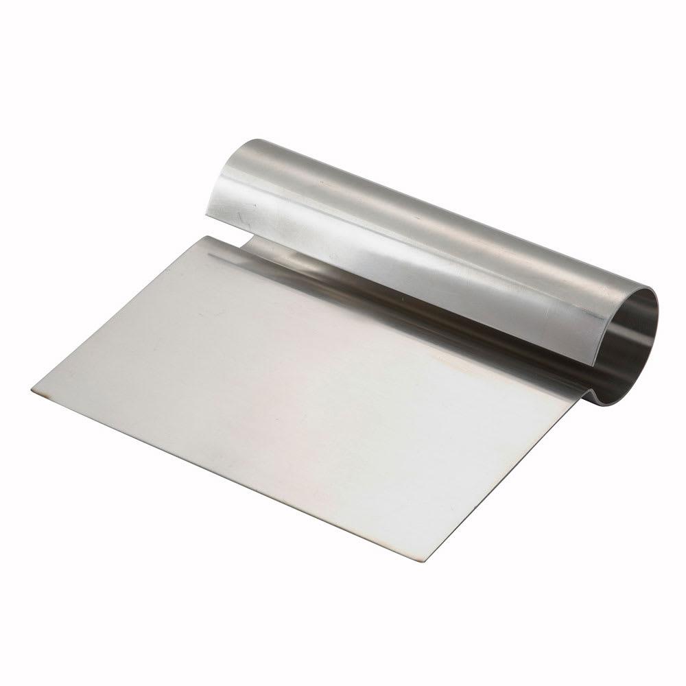 "Winco DSC1 Steel Dough Scraper, 5-1/4 x 4-1/4"""