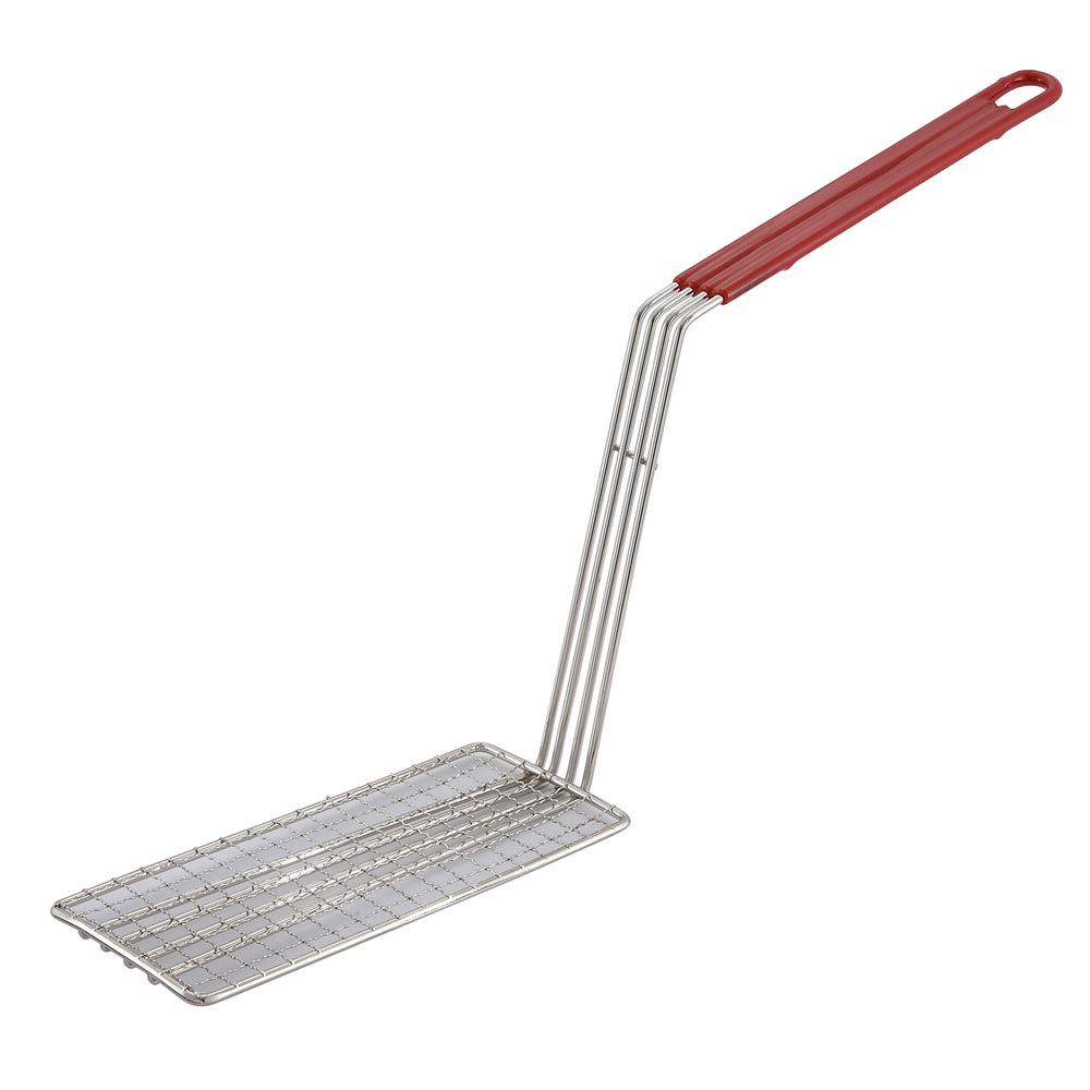 Winco FB-PS Fry Basket Press w/ Plastic Coated Handle, Fits FB-30