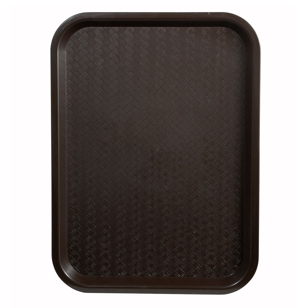 "Winco FFT-1418B Fast Food Tray, 14 x 18"", Brown"