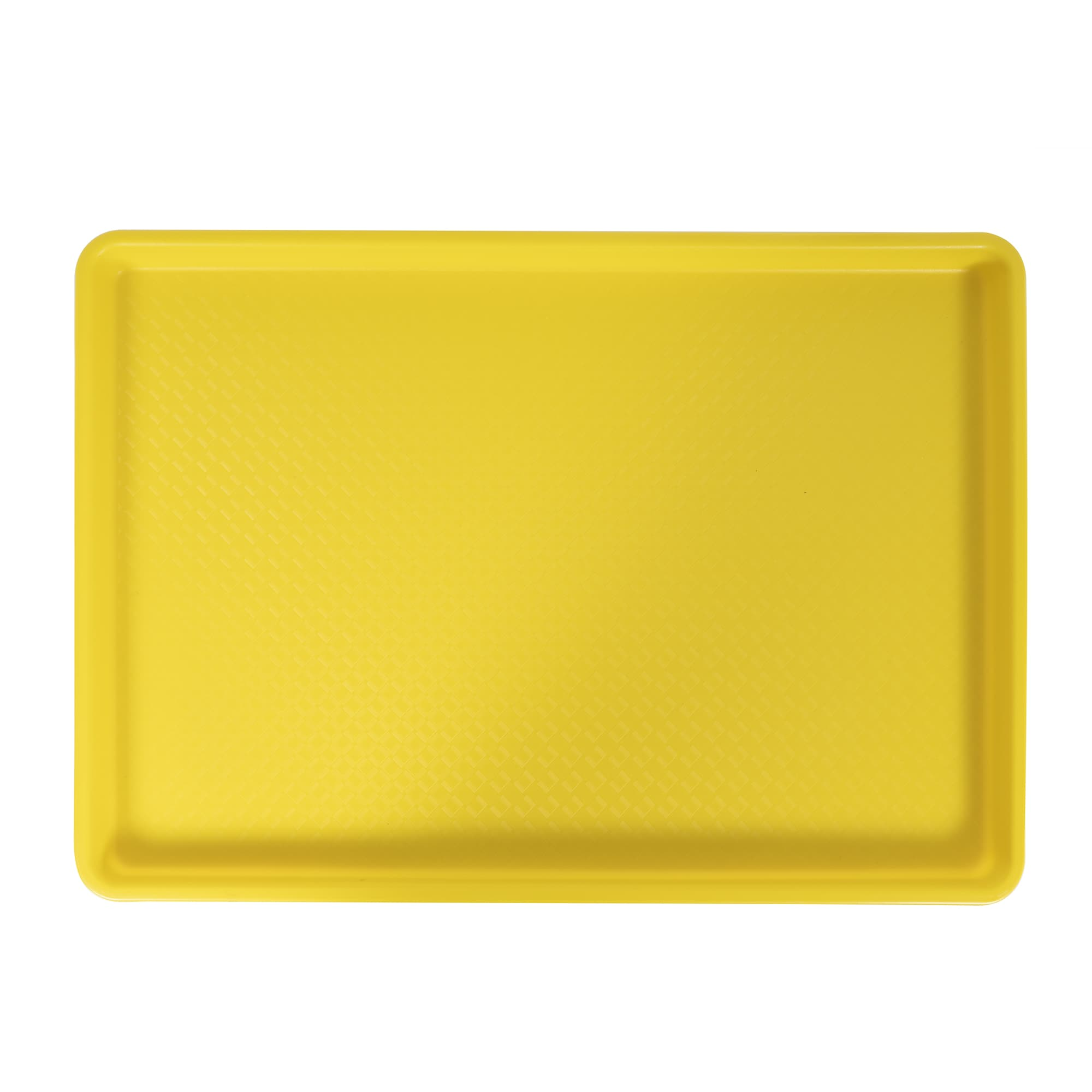 "Winco FFT-1826YL Fast Food Tray, 18 x 26"", Yellow"