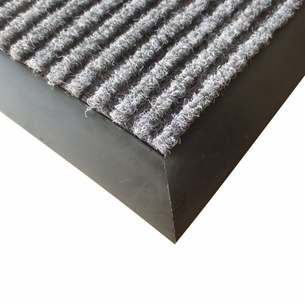 Winco FMC-310C Carpet Floor Mat - 3x10-ft, Charcoal