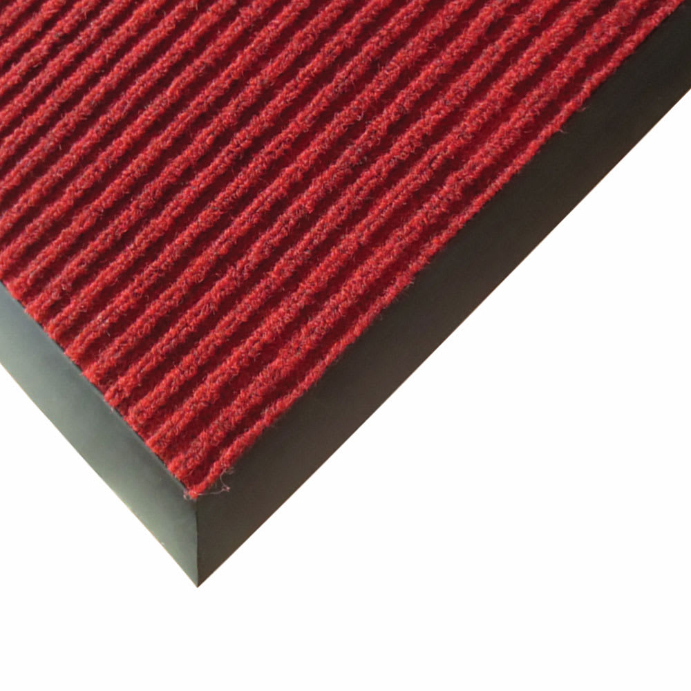 Winco FMC-46U Carpet Floor Mat - 4x6 ft, Burgundy