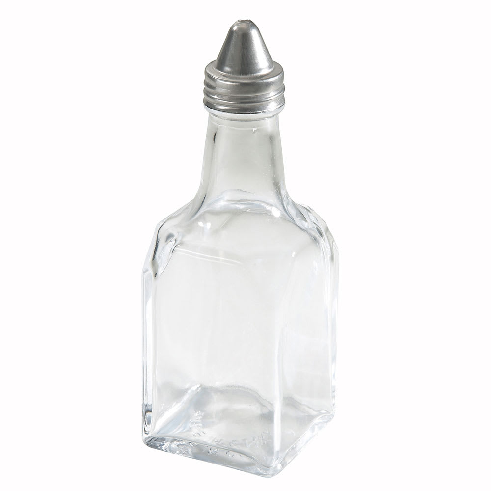 Winco G-104 6 oz Glass Oil & Vinegar Cruet