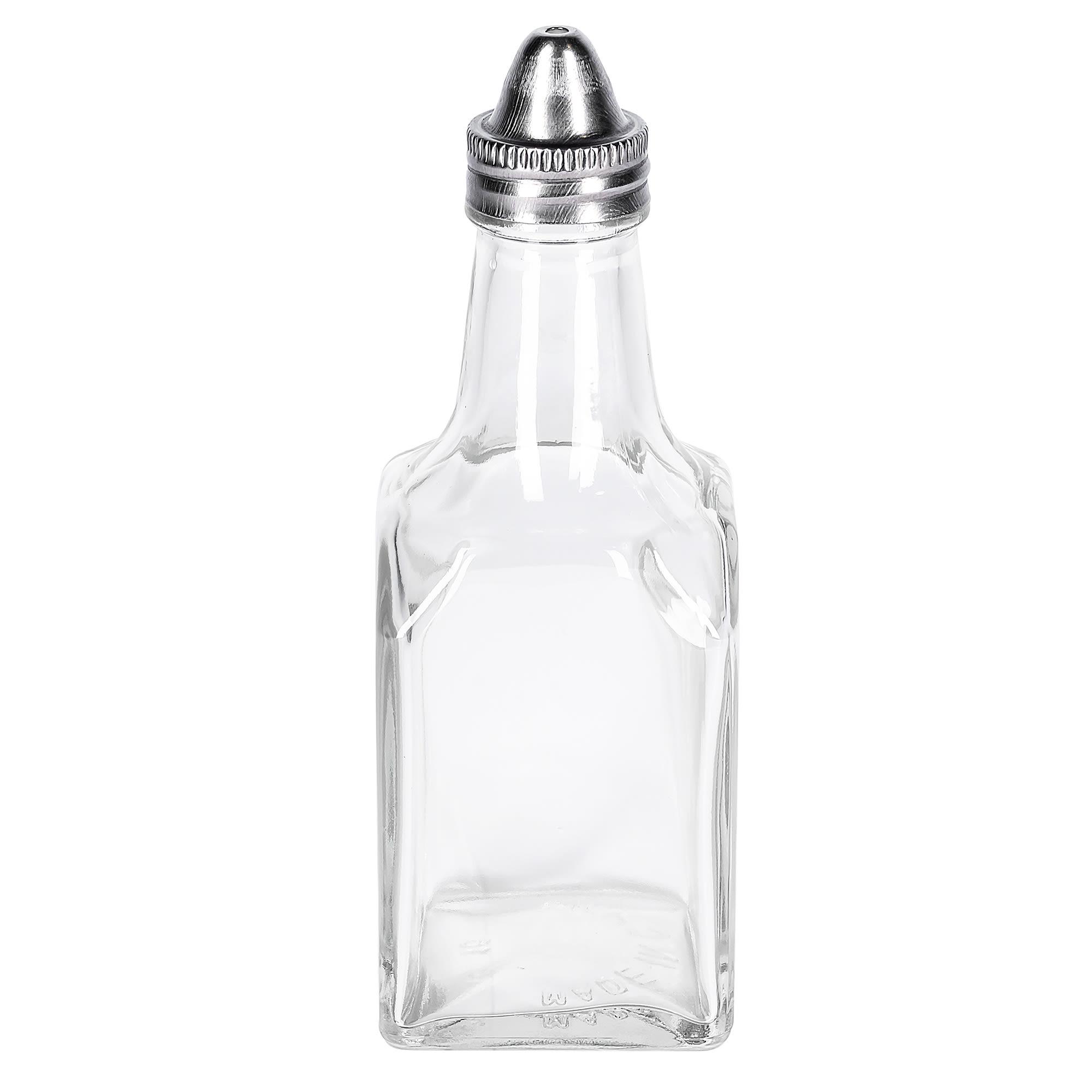 Winco G-104 6-oz Glass Oil & Vinegar Cruet